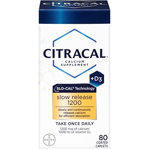 - Citracal with Calcium D Slow Release 1200, 80-Count - Buy Packs and SAVE (Pack of 2)