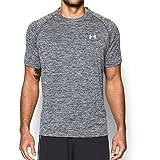 Under Armour Men's Tech Short Sleeve T-Shirt, Black, XXXX-Large