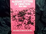 Russian Letters of Spiritual Direction, 1834-1860, Marcarius Starets of Optina, 0913836230