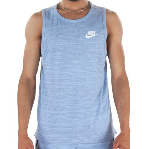best website a874a da355 Image Unavailable. Image not available for. Color  NIKE 882153-450 Men M  NSW AV15 Tank Knit ...