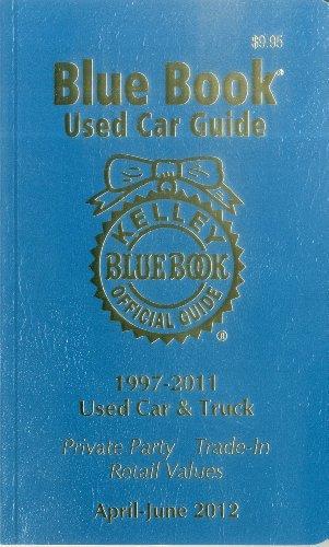 Kelley Blue Book Used Car Guide April - June 2012
