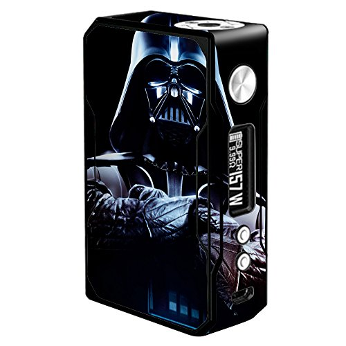 Skin Decal Vinyl Wrap for Voopoo Drag 157W TC Resin/Reg. Vape Mod stickers skins cover/Darth
