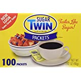 Sugar Twin Sugar Substitute, 100-count Packets (Pack of 2)