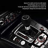 YTYC 5/6 Speed Gear Shifting Knob Lever Stick Handle Handball Head Audi A3