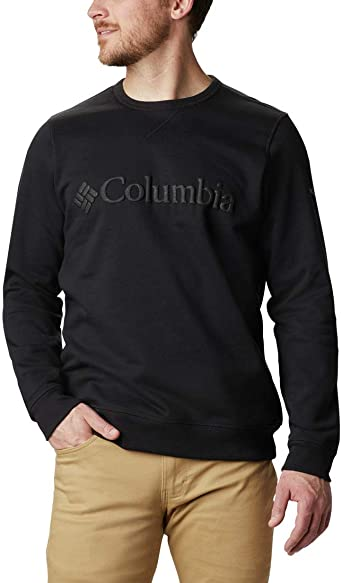 Columbia Mens M Columbia/™ Logo Fleece Crew M Columbia Logo Fleece Crew