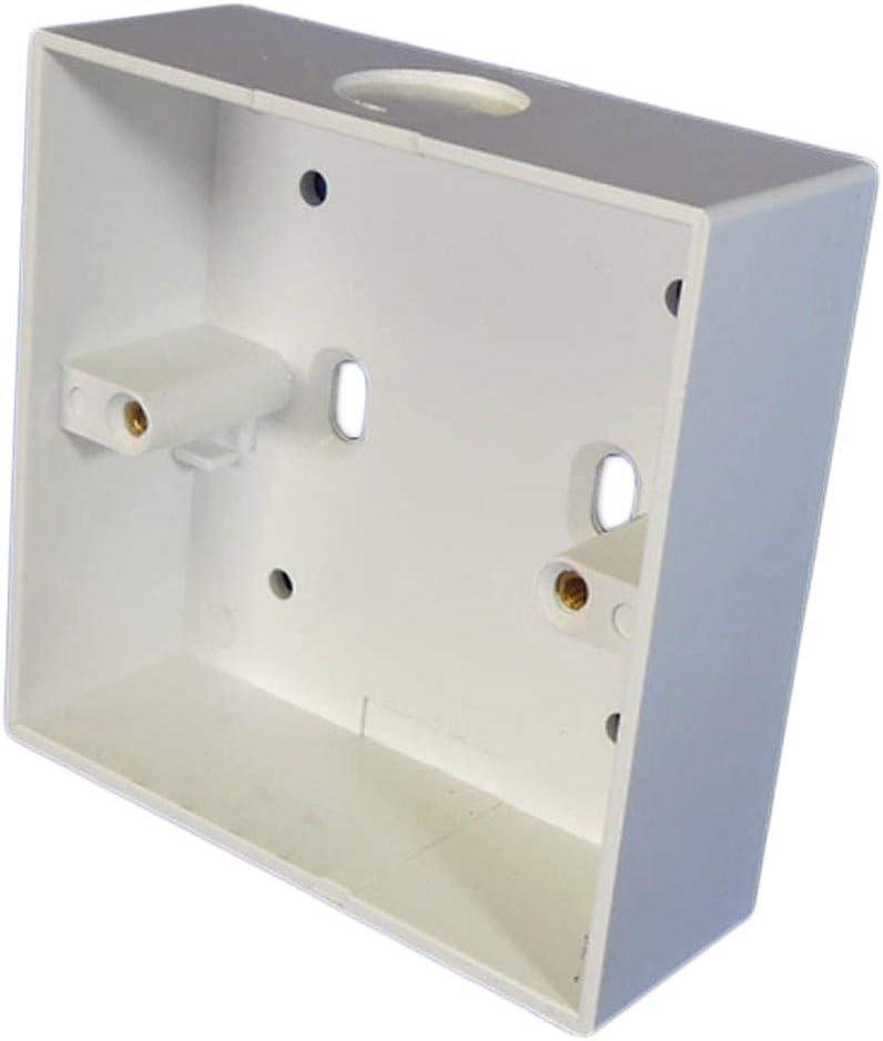 1 caja de enchufe montada en superficie con Knockout (85 x 85 x 32 mm): Amazon.es: Bricolaje y herramientas