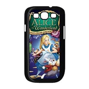 Samsung Galaxy S3 9300 Cell Phone Case Black Disney Alice in Wonderland Character The Caterpillar CKU
