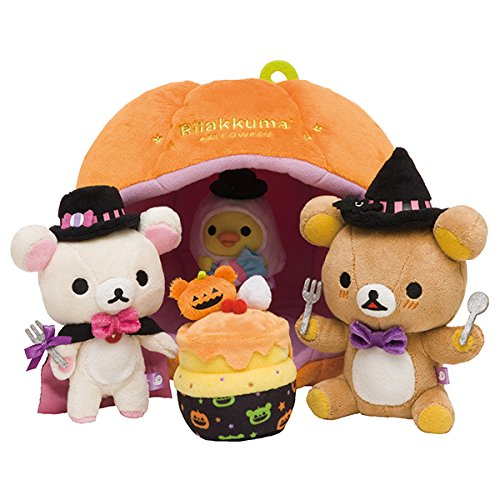 [San-X Rilakkuma Halloween Special stuffed 2016 From Japan New] (Comic Book Character Costumes Uk)