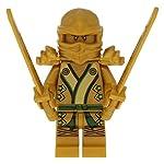Neu-LEGO-Ninjago-Golden-Ninja-Figur-Lloyd-Gold-NEW-with-Weapons-71239-70505-70503