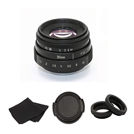 Review 35mm F1.6 APS-C Television