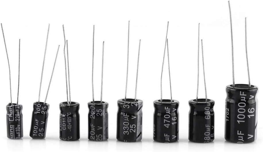 4.7uF Condensatore elettrolitico radiale 100 V 105 C
