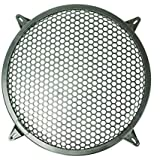 Buorsa 12 Inch Auto Speaker Parts Car Audio Sub Woofer Grille Black Waffle Grill Cover Guard Protector Grille