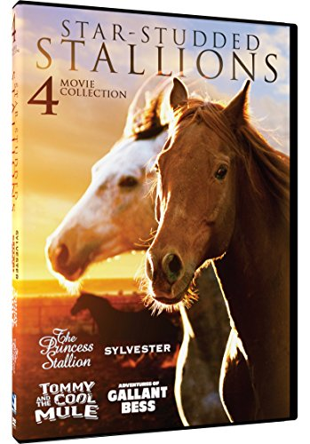 Studded Net - Star-Studded Stallions - 4 Heartwarming Horse Films: Princess Stallion, Sylvester, Tommy and the Cool Mule and The Adventures of Gallant Bess