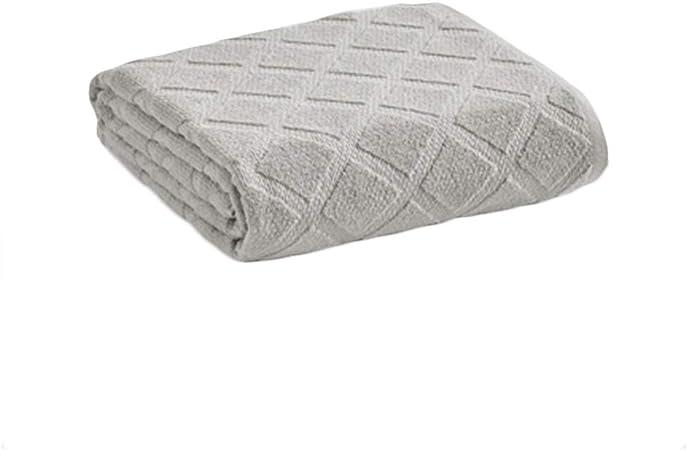 AQIALE Manta de tamaño Completo, Manta Fina de Verano, Manta Ligera y Suave for la Piel, Manta Doble, Manta de algodón, Manta de sofá (Color : Gray): Amazon.es: Hogar