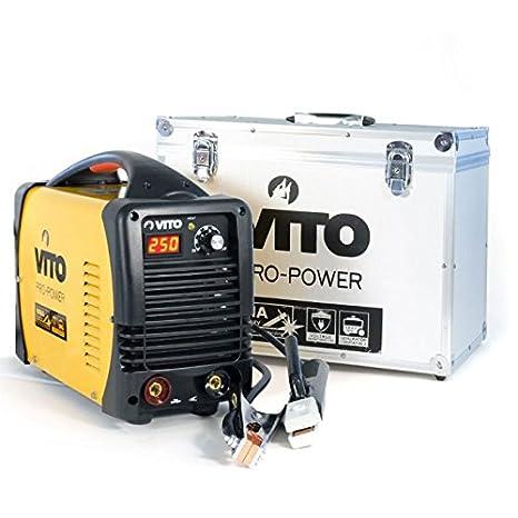 Estación Soldadura Inverter Numerique Vito 250 profesional 380 - 400 V soldadura por arco - Sealer acier-fonte-inox: Amazon.es: Iluminación