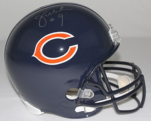JIM McMAHON SIGNED CHICAGO BEARS HELMET SCHWARTZ SPORTS COA SIGNED AUTOGRAPH