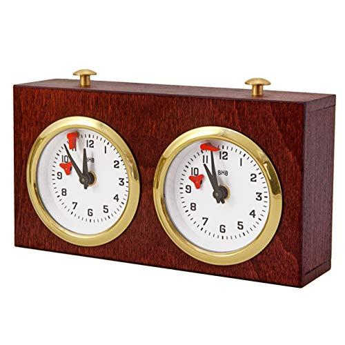 Regencychess Wooden Turnier Chess Clock - Dark Wood