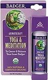Badger Balm - Yoga & Meditation Balm - To Center & Balance Your Inner Badger - New .6 oz sticks!