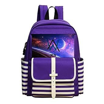 Children School Backpack ALan Walker Kids Student Bookbag