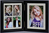 Best PersonalizedbyJoyceBoyce.com Friends Forever Picture Frames - 5x7 BFF Double Hinged Portrait BLACK Frame Review