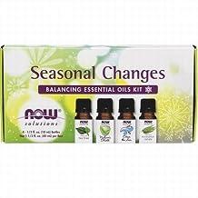 NOW Foods - Seasonal Changes Balancing Essential Oils Kit