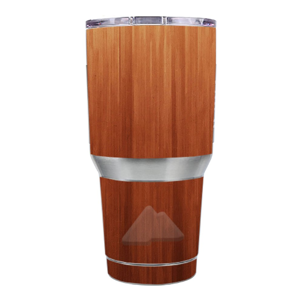 Skin Decal Vinyl Wrap for Ozark Trail 30 oz. Tumbler skins stickers cover / Smooth Maple Walnut Wood