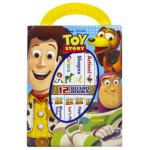 Disney Toy Story - My First Library Board Book Block 12-Book Set - PI Kids