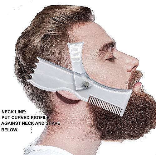 Beard Shaping Styling Template Shaper