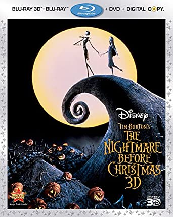 Amazon.com: The Nightmare Before Christmas (Three-Disc Combo: Blu ...