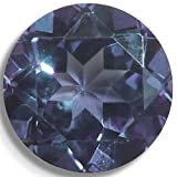 Lab Sapphire Alexandrite Color Change Round Brilliant Loose Unset Gem (6mm) click for more sizes