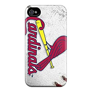 First-class Case Cover For Iphone 4/4s Dual Protection Cover St. Louis Cardinals
