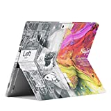 Unik Case - Ultra-Thin Skin Sticker PVC Protective Skin Decal Vinyl Cover Protector for Microsoft Surface Pro 4 and Surface Pro(2017 Released) - Left Right Brain