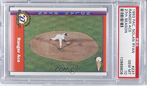 Amazoncom Nolan Ryan Graded Psa 10 Gem Mt Baseball Card