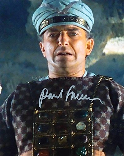 PAUL FREEMAN as Dr. Rene Belloq - Raiders Of The Lost Ark GENUINE AUTOGRAPH from Celebrity Ink