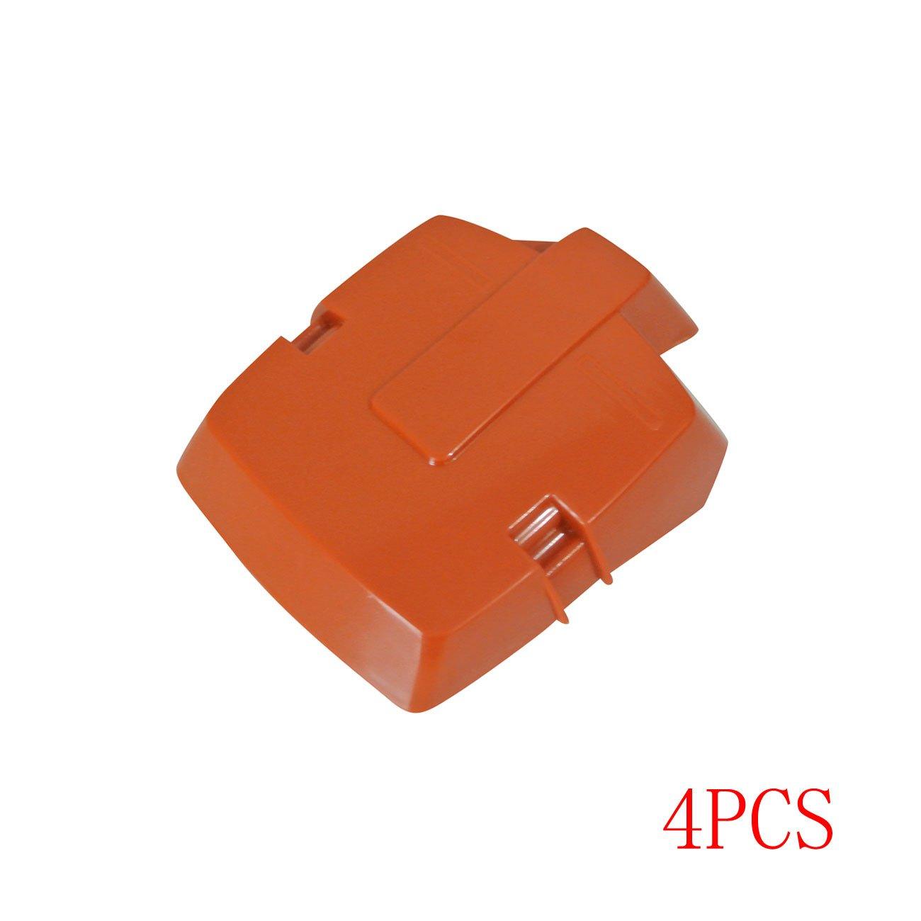 /01 jrl 4pcs Nueva cubierta del filtro de aire para Husqvarna 362/365/371/372/motosierras OEM # 503/62/80/