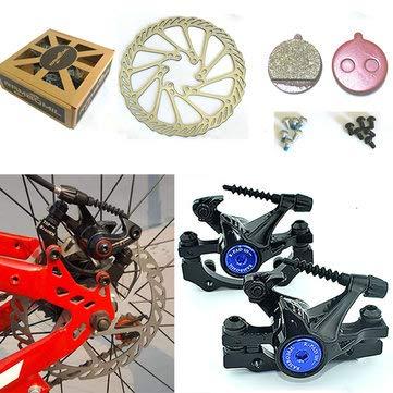 Wheel Brake Rotor Kit Mechanical Cycling Bicycle Caliper Front - 1PCs