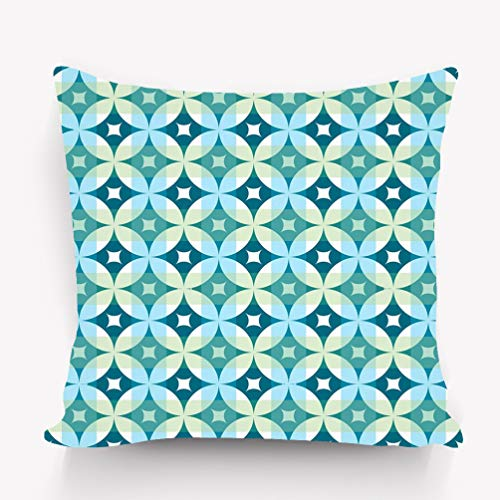 zexuandiy Throw Pillow Cushion Cover, Detailed Modern Artsy,18