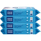 Mee Mee Anti Bacterial Caring Baby Wet Wipes with Aloe Vera 72 pcs (4 pack)