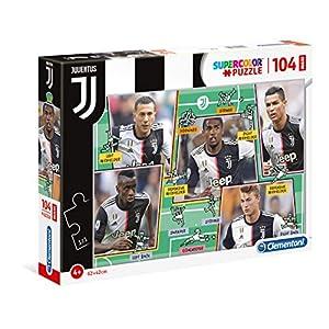 Clementoni 23744 Juventus 2020 104 Maxi Pezzi Made In Italy Puzzle Bambini 4 Anni Puzzle Calcio