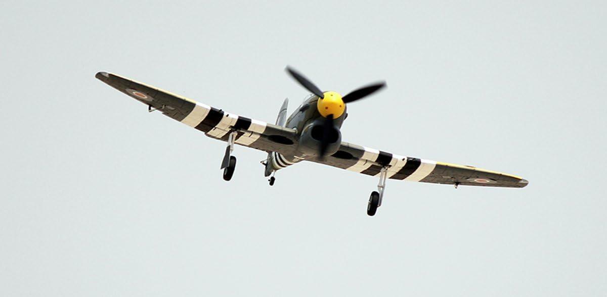 DYNAM RC Airplane Hawker Tempest 1250mm Wingspan SRTF