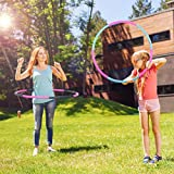 Liberry Hula Hoop for Adults and Kids (Parent-Child Suit),Detachable & Size Adjustable Design,Professional Weighted Hula Hoop for Exercise (Parent-Child Suit) Review