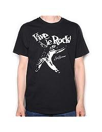 Old Skool Hooligans Punk T Shirt - Vive Le Rock Little Richard Version