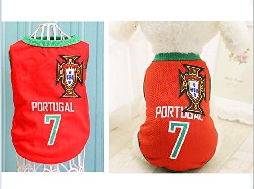 Fútbol/Baloncesto Camiseta kaymayn ropa para perros disfraz de ...