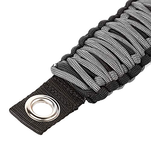 Rugged Ridge 13305.83 Gray Paracord A-Pillar Seat Mount ()