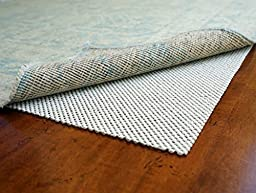 Super Lock Natural by Rug Pad USA, Rubber Non Slip Rug Pads, Gripping Open Weave Rubber Rug Pads (5x7)