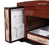 Generic YC-US2-160128-57 <8&2953*1> ristmas Drawer Sto Drawer Storage Wooden Jewelry Case Box Organizer 4 Layers W/3 Display Christmas Wooden Jewe