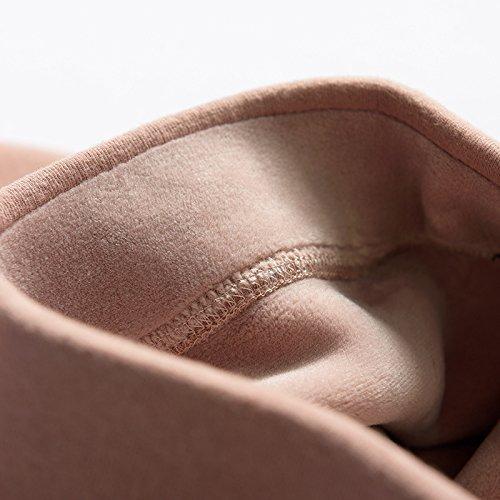GBHNJ Leggings Femmes Grande Taille Plus Épais Pantalon Slim L'Automne Et L'Hiver Peut Se Porter À L'Extérieur Rose Thermique F(Poids Approprié 80-130 Catty)