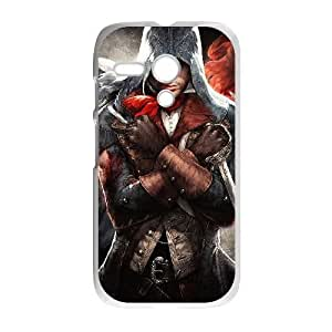 Motorola Moto G Phone Case White Assassin's Creed Unity ZDC407665
