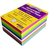 Colorations Bright Construction Paper Smart Pack - 600 Sheets (Item # BRITESTK)