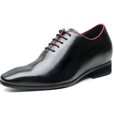 Classique Ville Cuir Chaussure Rehaussante Homme Chamaripa À v80NnwOm